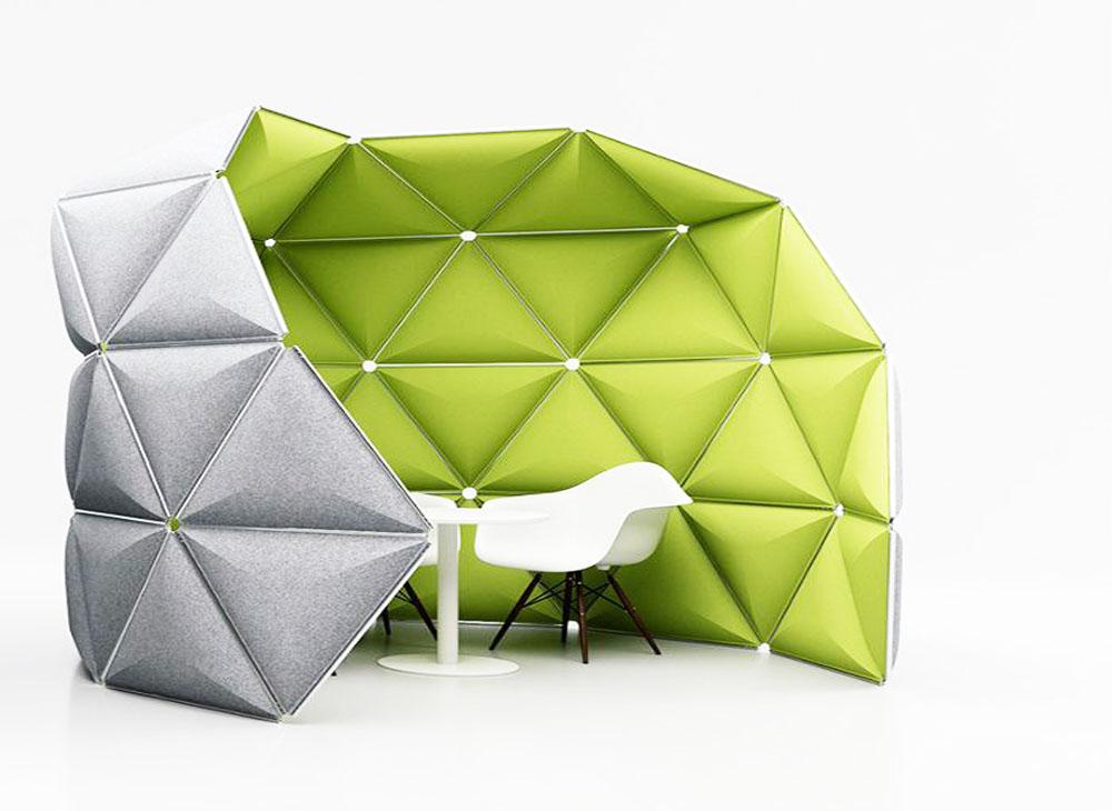 Amélioration en insonorisation acoustique installation de mobilier